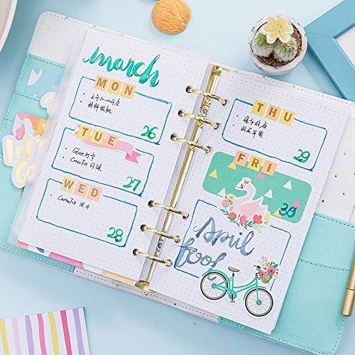 YWHY Cuaderno A5 2019 Agenda Agenda Agenda Diario Diy Kawaii ...