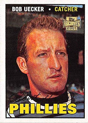 Bob Uecker baseball card (Philadelphia Philles) 2001