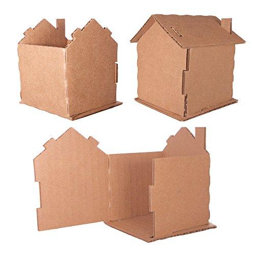 - Cardboard House (5 Pack)