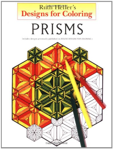 Designs for Coloring: Prisms (Prism Shape)