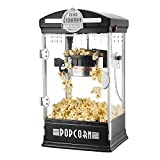 Great Northern Popcorn Company 6075 Big Bambino Popcorn Machine, Black