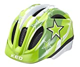 KED Fahrradhelm Meggy, Green Stars, S, 16409179S