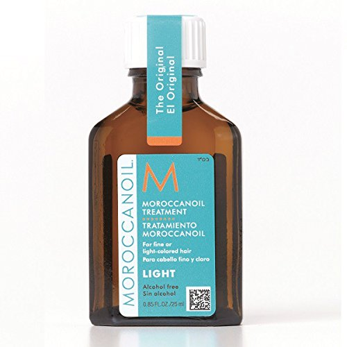 Moroccan Oil Treatment - 25ml - Light - perfect for fine and fair-coloured hair - Alcohol free