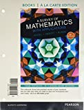 img - for Survey of Mathematics with Applications, A, a la Carte edition plus NEW MyMathLab with Pearson eText (10th Edition) book / textbook / text book