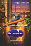 Ratatouille International Movie Poster Double Sided Original 27x40