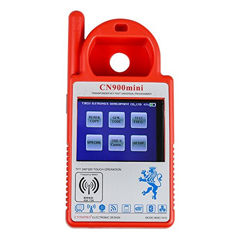 CN900 Mini Transponder Key Programmer Key Maker No Need Token Support 4C 46 4D 48 G Chips Copy Update Online