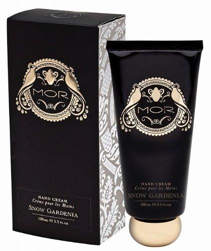 Mor Cosmetics Emporium Hand Cream, Snow Gardenia, 3.3 Fl. Oz.