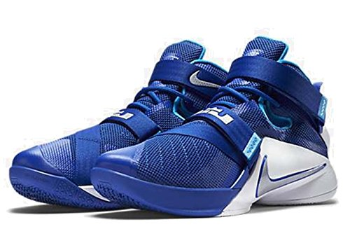 Silver Soldier Blue Uomo Royal Hero Nike Metallic Lebron IX White Sportive Game Scarpe 7Wawqz