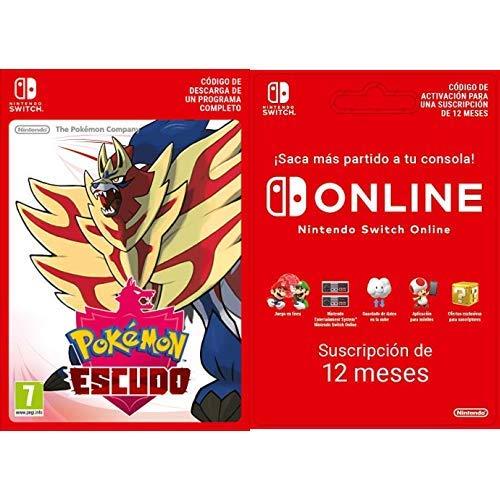 Pokémon Espada [Nintendo Switch] + Switch Online 12 Meses ...