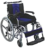 SCURE Lithium Battery Operated Power Wheelchair (Black and Blue)