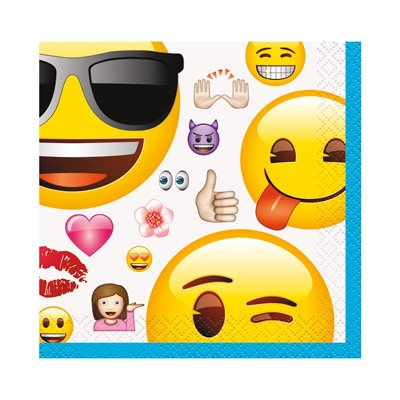Emoji Birthday Party Supplies Bundle Pack 8 For By A5260d