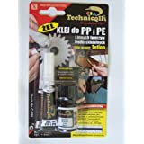 CLEAR ADHESIVE GLUE SUPER GEL FOR PP Polypropylene, PE Polyethylene, PTFE, Silicone NEW by Technicqll