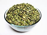 Organic Raw Pepitas / No Shell Pumpkin Seeds, 5 lbs bag. AA Grade