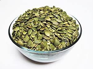 Organic Raw Pepitas / No Shell Pumpkin Seeds, 16 oz bag. AA Grade