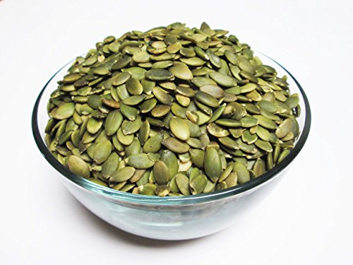 (Organic Raw Pepitas / No Shell Pumpkin Seeds, 16 oz bag. AA Grade)
