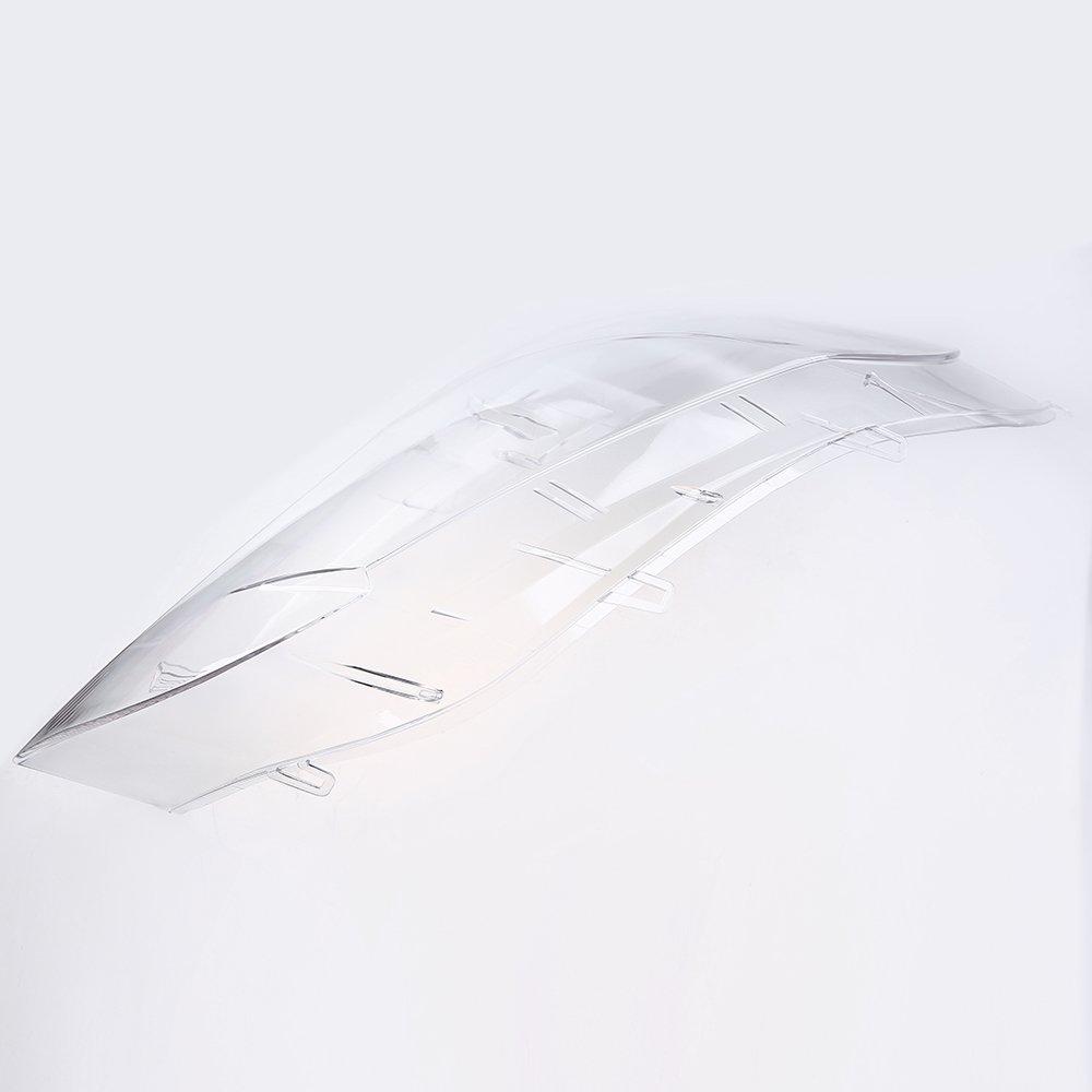 Scheinwerfer Abdeckung POSSBAY Links Frontscheinwerfer Streuscheibe f/ür BMW X5 E70 2007-2013