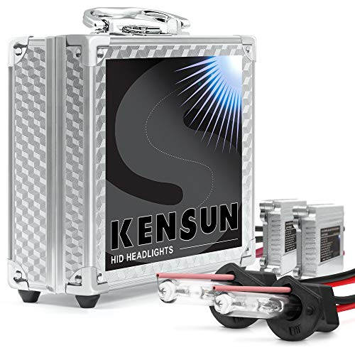 HID Headlight Xenon Conversion Kit by Kensun, H1, 12000K