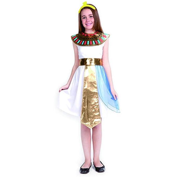 Amazon.com: Disfraz de Cleopatra de Reina Egipcia para niñas ...