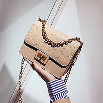 fd4ce1548755a ZHANGJIA Damen Tasche Fashion Trend Street Snap Snap Single Schulter  schräge Lady  s Bag