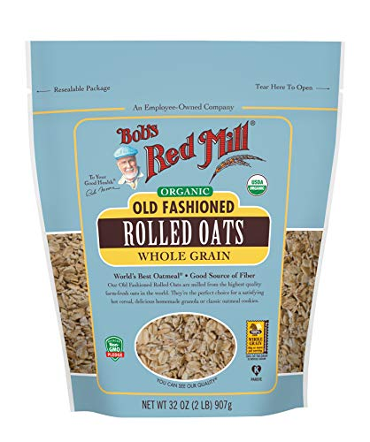Bob's Red Mill Organic Old Fashioned Rolled Oats, 32 Oz