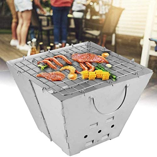 WYJBD Barbecue for Barbecue en Acier Inoxydable Pliable extérieur Grill extérieur Camping Grill