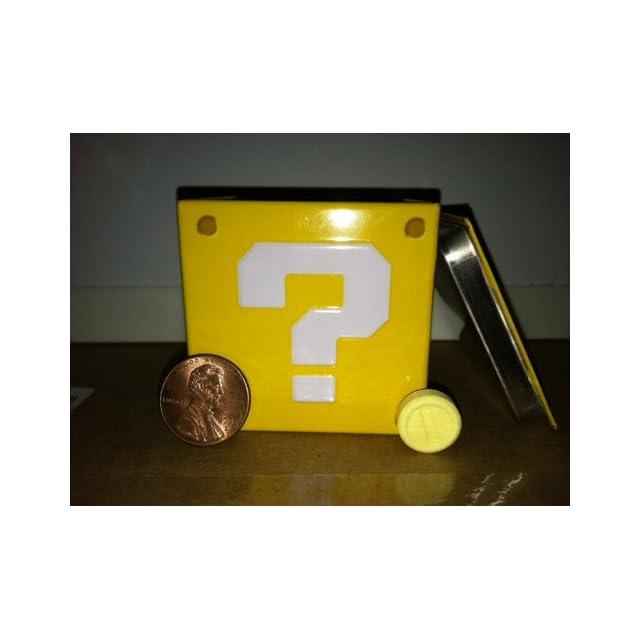 Nintendo Super Mario Bros. Question Mark Box Coin Candies