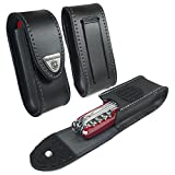 Victorinox Genuine Leather Belt Pouch for Swiss Army Pen Knife (2-4 layers)