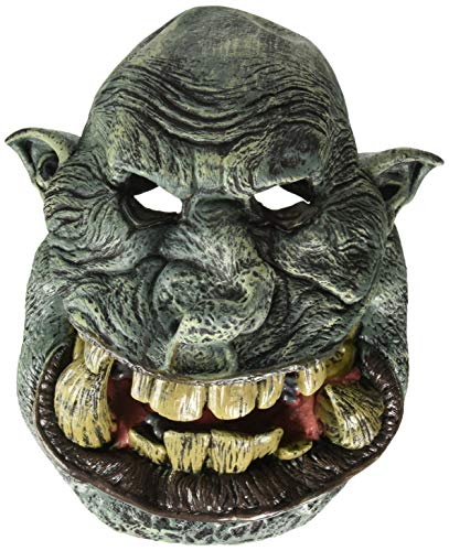 California Costumes Men's Big Mouth MASK, Battle Troll, One Size