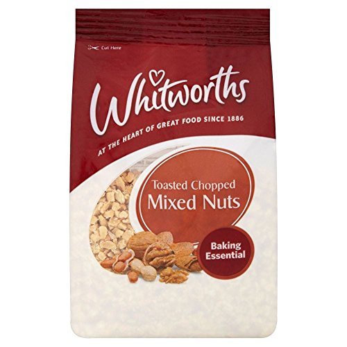 Whitworths Toasted Chopped Mixed Nuts (200g) ()