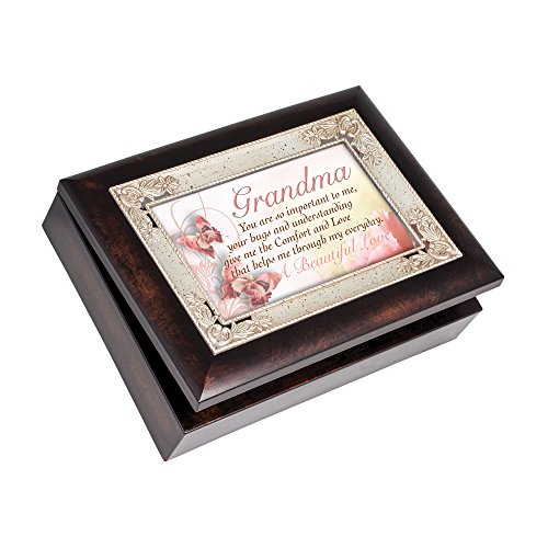 Grandma A Beautiful Love Italian Inspired Music Musical Jewelry Plays Wind Beneath My Wings by Cottage Garden Collections