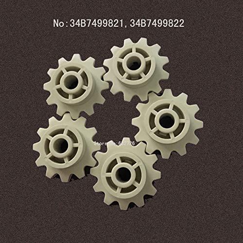 Printer Parts Fuji Gear 350/390/550/330/355/340/375/570 Frontier/Picture minilabs/34B7499821/34B7499822/Laser Printer/5pcs by Yoton (Image #1)