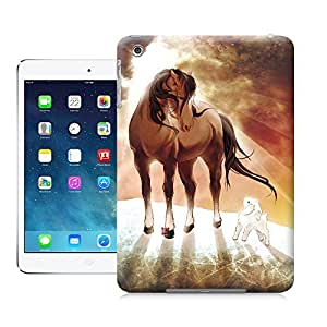 Unique Phone Case Twelve Zodiac Figure Wu horse Hard Cover for ipad mini cases-buythecase