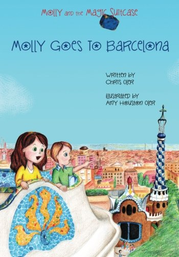 Molly Magic Suitcase Goes Barcelona