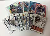 NFL Football Cards Party Favors - (10) Sets of 10 Football Cards Gift Set Goody Bags