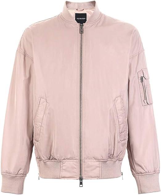 Abrigos Ropa/Hombre/Ropa Chaqueta de algodón de Color Rosa para ...