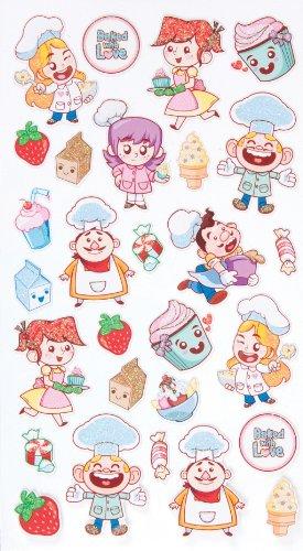 EK Success Brands Decorative Sticko Stickers, Baking ()