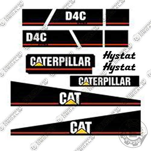 Caterpillar D4C Series 3 Dozer Equipment Decals