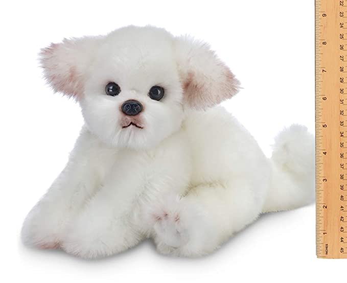Amazon.com: Bearington Angel Maltese - Perro de peluche para ...