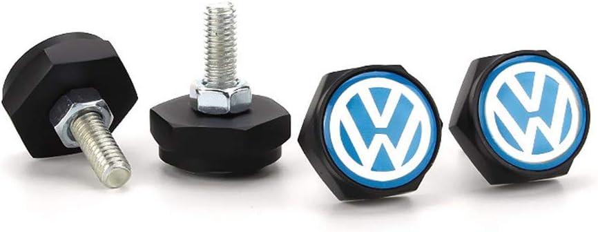 QOMNHNDE License Plate Frame Screws for Volkswagen
