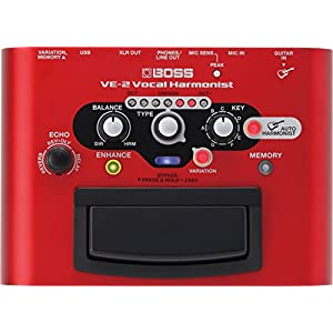 BOSS VE-2 Vocal Harmonist Pedal for Guitars B...