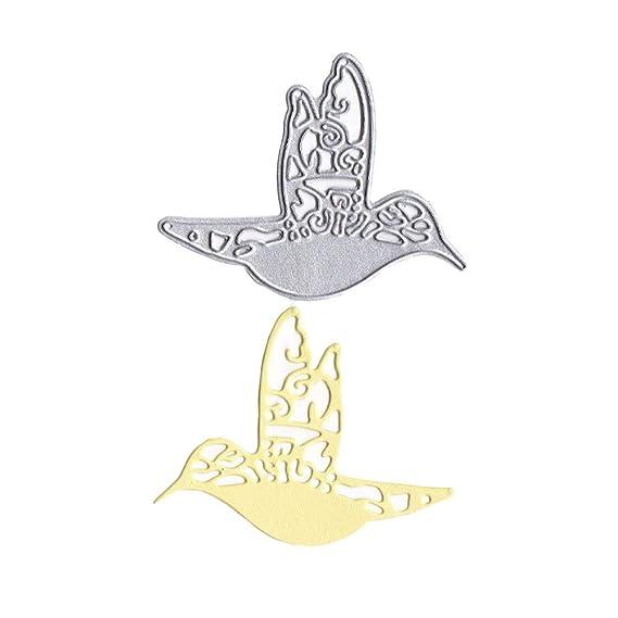 Kaiboo Plantillas para Estarcir con Forma DIY Scrapbooking Gofrado Troquelado Kit Almohadilla de Papel Dies Corte en Relieve Grabado Pintar Paredes diseño ...