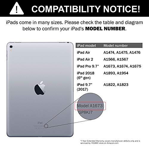iPad iPad - 2017 - iPad 9.7 - 2 Thin Light 360 - - iPad Case with Keyboard