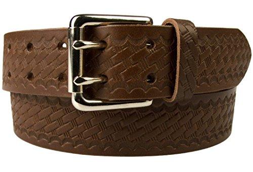 Brown Basket Weave - 5
