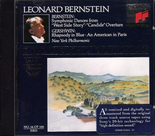 Bernstein: Symphonic Dances from West Side Story; Candide Overture / Gershwin: An American in Paris; Rhapsody in Blue (Royal Edition No. 14) by Sony