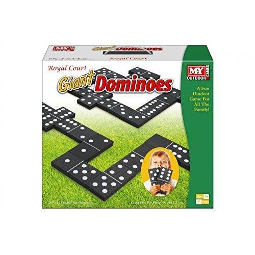 Toyland® GIANT DOMINOES GARDEN PATIO OUTDOOR GAME FOR KIDS CHILDREN FAMILY SUMMER FUN