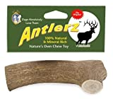 Set of 2, Antlerz Dog Chews, Large 4.5″ – 5″, Pet Treat Natural Shed in USA Deer Antler Review