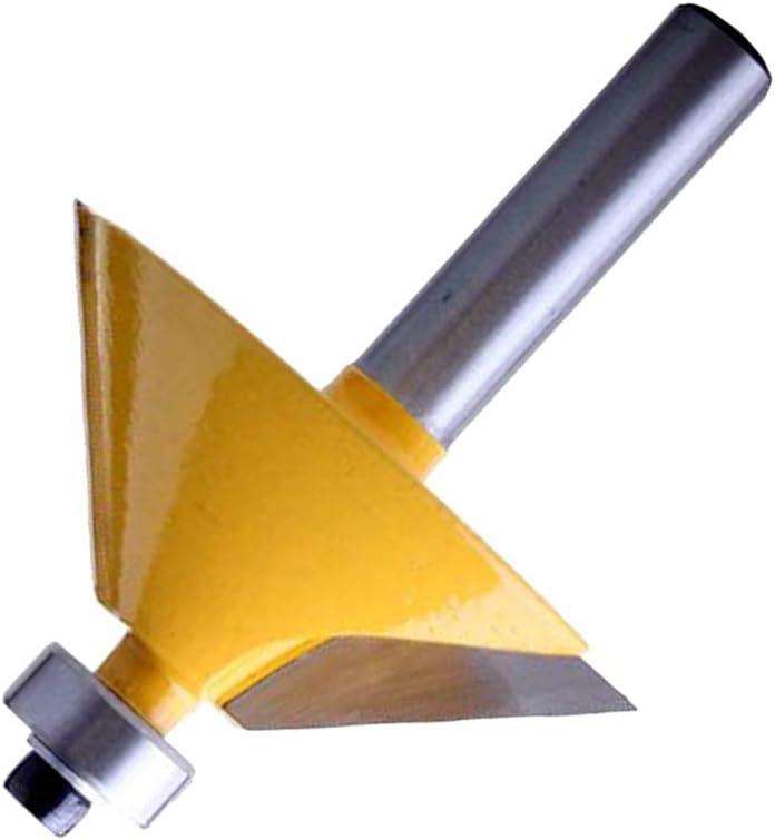 45 /° Fase /& Abschr/ägung Beading Edge Fr/äser 8mm Schaft F/ür Die
