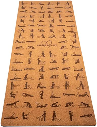 Cork Yoga Mat – Natural Yoga Mat – Yoga Mat Cork – Organic Yoga Mat – Yoga Mat for Men and Women – Eco Friendly Yoga Mat – Hot Yoga Mat – Yoga Mat – Kama Sutra Yoga Mat – Non Slip Cork