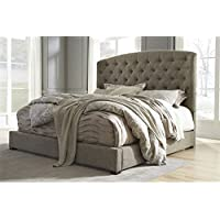 Ashley Gerlane King Sleigh Bed in Graphite