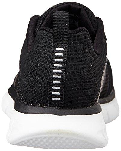 Skechers Synergy Power Switch - Zapatillas de Deportes de Interior de Material Sintético Niño Nero (bkw)